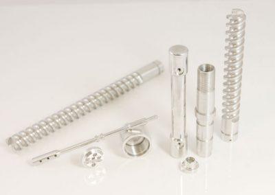 aluminium turned parts
