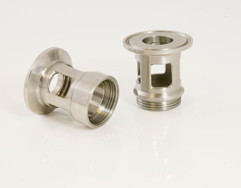 Stainless steel turned parts machining